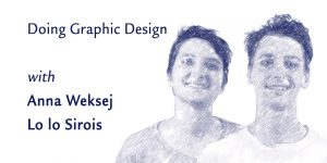 Doing graphic design (5-week workshop) @ Montréal | QC | CA