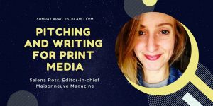 Pitching and writing for print media @ Espace POP | Montréal | QC | CA