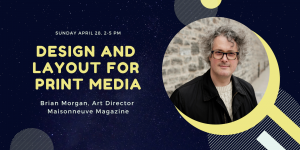 Design and layout for print media @ Espace POP | Montréal | QC | CA