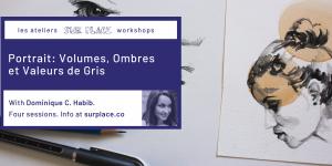 Portrait: Volumes, Ombres et Valeurs de Gris @ Sur Place Media | Montréal | QC | CA
